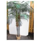 Artifical Palm Trees in Bamboo Pot