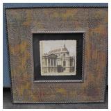 Old Photo Print in Decorative Frame