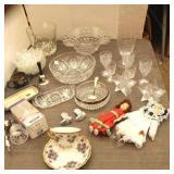 Bargain Lot: Estate Glassware & More