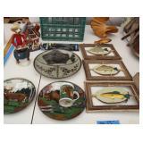 Bargain Lot: Fish & Hunting Decor,