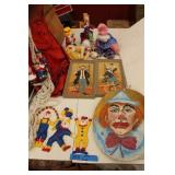 Bargain Lot: Clown Collectibles