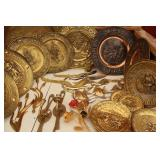 Bargain Lot: Brass Decor Plates & Brass