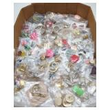 Large Lot of Earings-about 95 Sets
