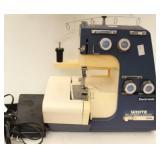 White Super Lock Model 534 Sewing Machine