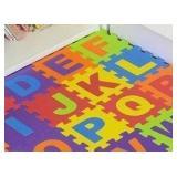 Alphabet Foam Floor Puzzle - Beautifloor 26pc