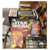Star Wars Books & Movies Plus More DVDs