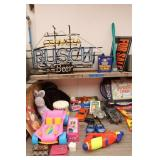 Bargain Lot: Toys, Beer Sign, Heater & More