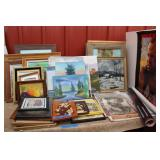 Canvases for Oil Painting (used) - paintings,