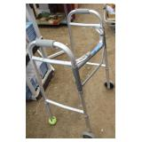 Medical Deluxe Two Button Folding Walker