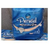 Prevail Diapers Size B (10 in a pack, 3 packs)