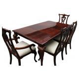 Thomasville Cherry Queen Anne Dining Room Set