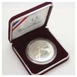 1988 US Mint Olympic Proof 90% Silver Dollar