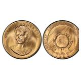 (2) 1980 US 1/2 Troy Ounce Gold American Arts