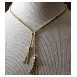 "Beautiful 14K Gold Chain 18"" Necklace (Italy)"