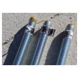 "(3) Hillman All Thread Plated Rods-3/4""-10-6ft"