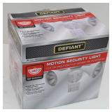 Defiant Motion Security Light 180 Detection White