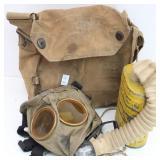 British Small Box Respirator w/Haversack
