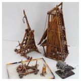 Hausser Elastolin Germany Medieval Catapult plus