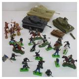 Toy Tanks/Soldiers/Horses/Medieval Elastolin