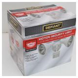 Defiant 180 White Motion Security Light 463 837