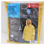 New Westchester Hooded Rain Jacket Polyester