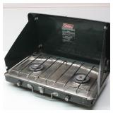 Coleman Deluxe Propane Camp Stove 2 Burners