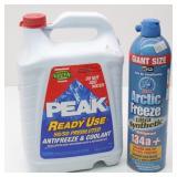 Peak Ready Use Antifreeze & Coolant plus Artic
