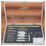 Classic Safari Deluxe Gun Cleaning Kit in Wood