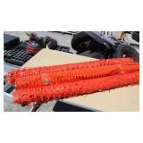 (3) Rolls Orange Safety Nets/Fence