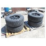 (4) B-F Goodrich Mid-Terrain TA Tires Radial