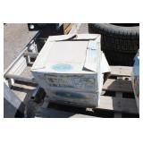 "(2 ) Boxes of Panda Beige Glazed Floor Tile 12"" x"