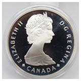 Royal Canadian Mint Ntl Park 1885-1985 Silver