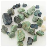 Collection of Rough Gem Stones