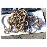 Vintage Rope & Pulleys