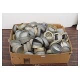 Box of Vintage Canning Lids: Ball Galvanized,