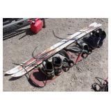 White Star M1 Action Stabilizer Skis plus