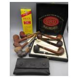 Collection of Pipes: GBD London England Pipes
