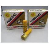 (50 rds-2 boxes) Federal 20 Ga. 1 1/8 oz. 4 shot