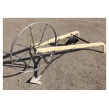 Garden Plow with Attachments