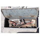 Vintage Metal Tool Box w/Tools