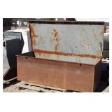 Vary Large 6ft x 30in Steel Storage Box