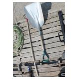 Aluminum Scoop Shovel & Hand Cultivator