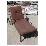 Patio Lounger -Adjustable Backrest