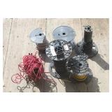 6 Spools of Electrical Wire