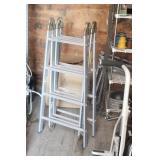 Aluminum Folding Ladder