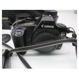 Canon EOS Rebel Camera w/Flash, Extra Lenses,