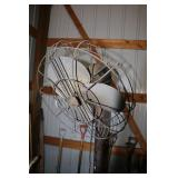 Very Tall Vintage Fan
