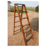Wooden Step Ladder - 6 step