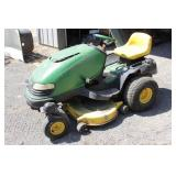 """John Deere SST16 Riding Lawn Mower w/42"""" Deck"""