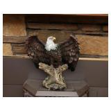 Large Eagle Resin Figuirine